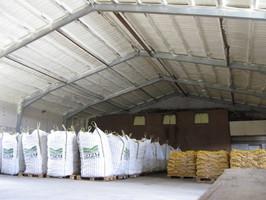 Nachträgliche Isolierung mit Polyurethanschaum im Kartoffellager