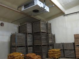 Nachträgliche Isolierung Kühlräume und Kühlhallen