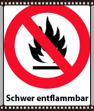 B1 Brandklasse ( schwer entflammbar ) jetzt auch bei Spritzschaum