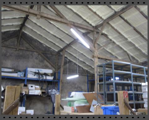 Nachträgliche Dämmung eines Daches gegen Schwitzwasser
