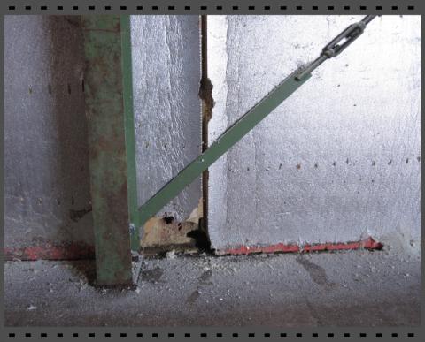 Alte Isolierplatten sanieren mit Polyurethan Spritzschaum