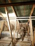 Dachboden dämmen im Spritzverfahren