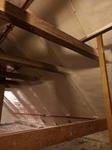 Dachboden Dämmung aus PUR Schaum