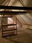 Dachboden Isolierung mit