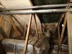 Dachboden mit nachträgliche Wärmedämmung